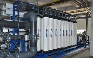 Hệ thống xử lý nước UF công suất 45 m3/h3