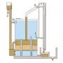 Lắng lamen lọc tự rửa công suất 50 m3/giờ4