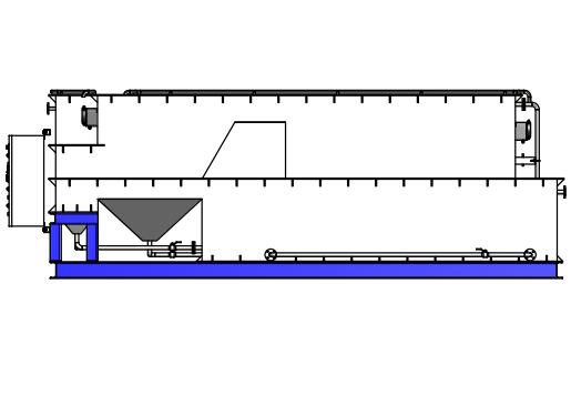 Nước thải thí nghiệm công suất 50 m3/ngày2