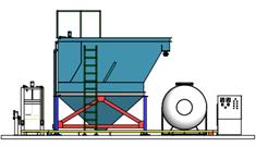 Hệ thống xử lý nước thải giặt là 40 m3/ngày4