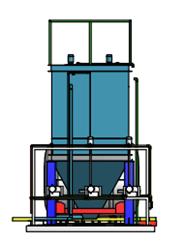 Hệ thống xử lý nước thải giặt là 40 m3/ngày3