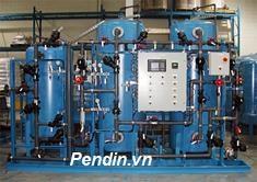 Hệ thống làm mềm nước công suất 40 m3/giờ