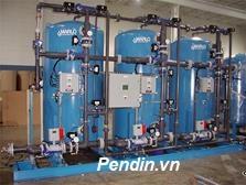 Hệ thống làm mềm nước công suất 45 m3/giờ
