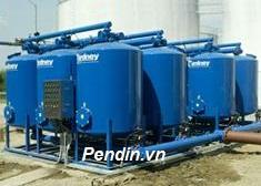 Hệ thống làm mềm nước công suất 80 m3/giờ