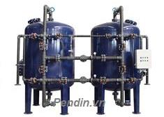 Hệ thống làm mềm nước công suất 32 m3/giờ