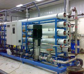 Hệ thống xử lý nước RO công suất 20 m3/h