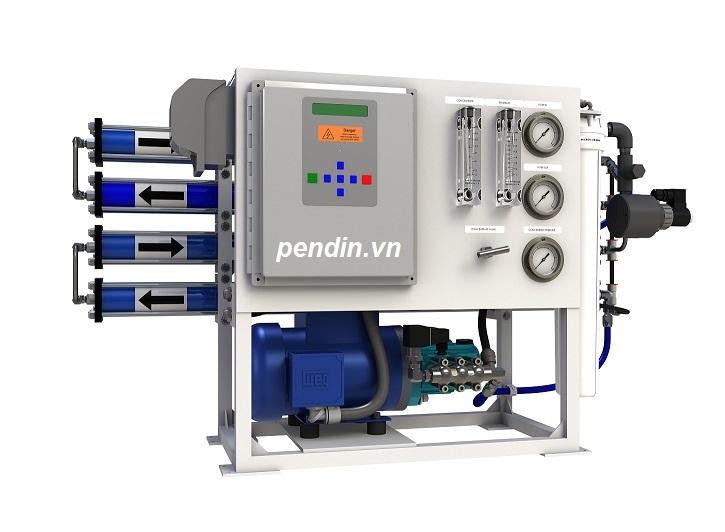 Hệ thống xử lý nước RO công suất 4 m3/h0