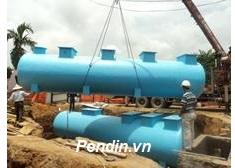 Thiết bị xử lý nước thải sinh hoạt 55 m3/ngày