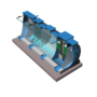 Module hợp khối xử lý nước thải sinh hoạt công suất 30 m3/ngày đêm chuẩn B0