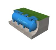 Module hợp khối xử lý nước thải sinh hoạt công suất 20 m3/ngày đêm chuẩn B