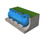 Module hợp khối xử lý nước thải sinh hoạt công suất 20 m3/ngày đêm chuẩn B0
