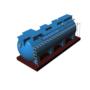 Module hợp khối xử lý nước thải sinh hoạt công suất 15 m3/ngày đêm chuẩn B0