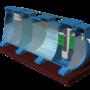 Module hợp khối xử lý nước thải sinh hoạt công suất 45 m3/ngày đêm chuẩn B0